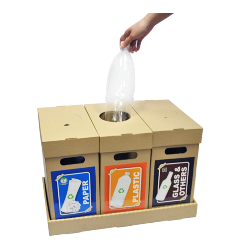 Recycle Bin 02 Waste Separation Trash Bin