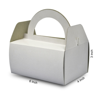 Basic Cake Box with Handle 01 (20pcs)