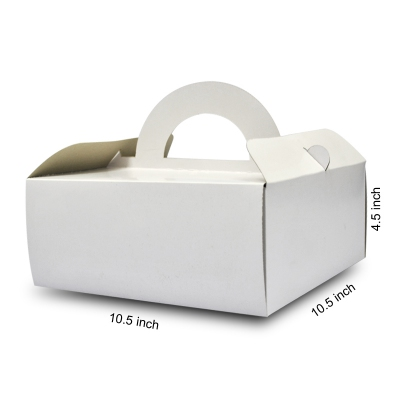Basic Cake Box with Handle 04 (20pcs)